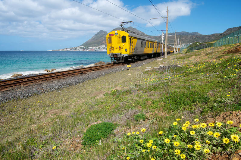 Train de Capetown image stock