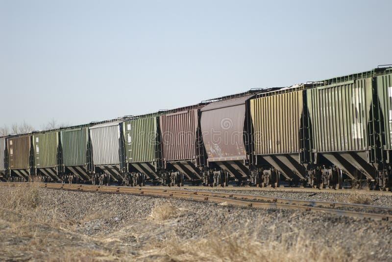 Train de charbon photographie stock