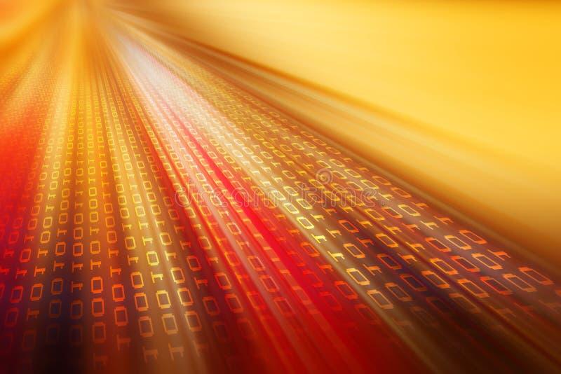 Train de données de données illustration libre de droits