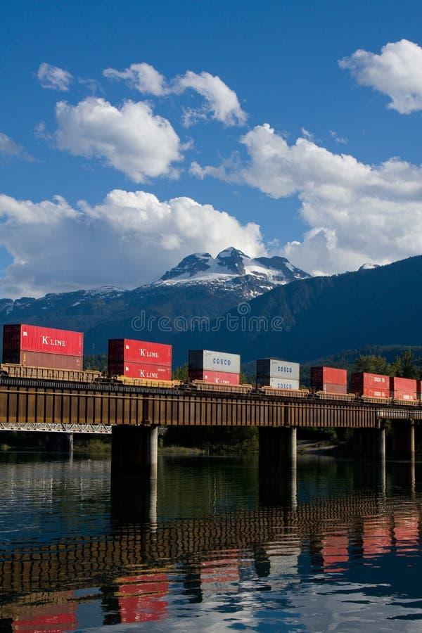 Train de fret photographie stock libre de droits