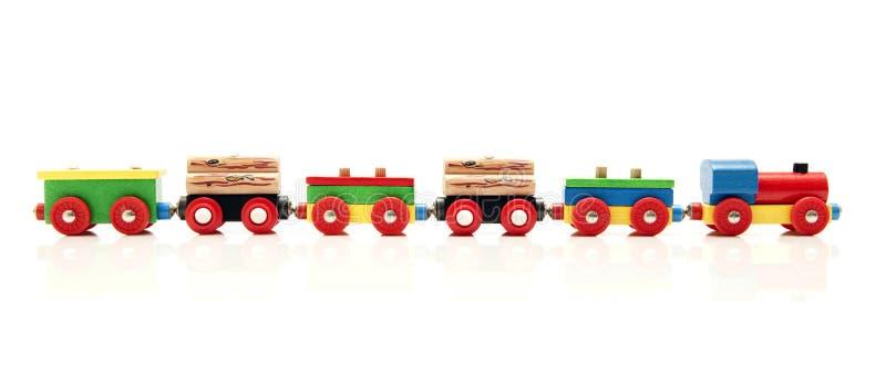 Train de jouet photo libre de droits