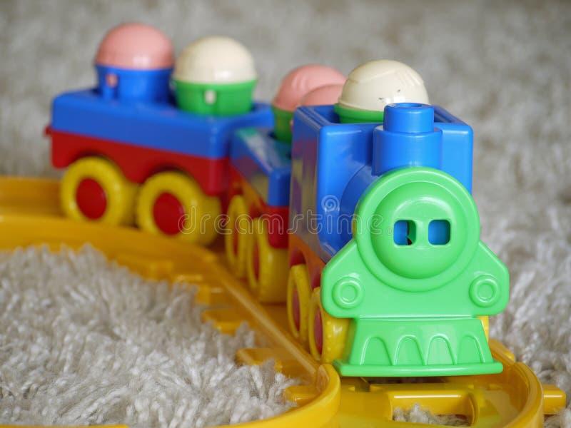 Train de jouet photos libres de droits