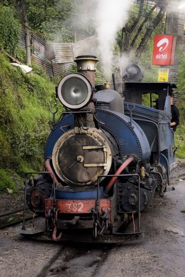 Train de jouet en Inde images stock