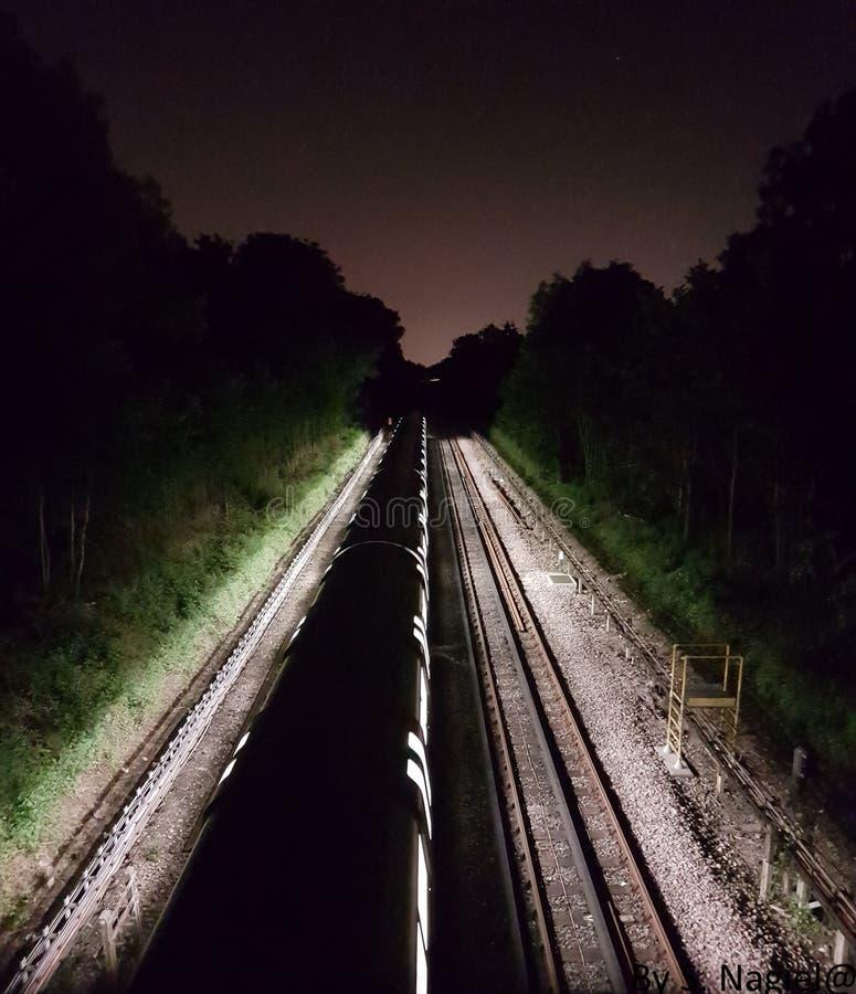 Train de lumière photos stock