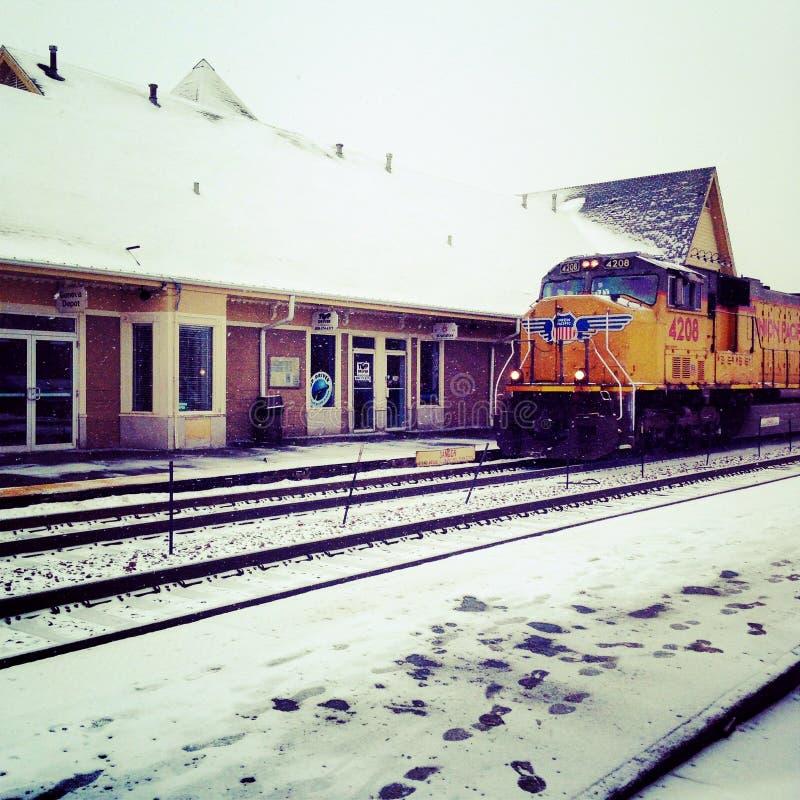 Train de Milou image stock