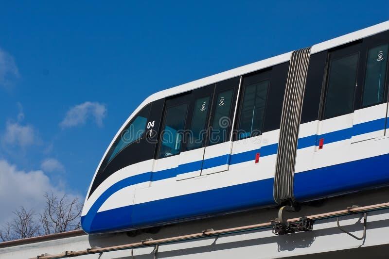 Train de monorail photo libre de droits