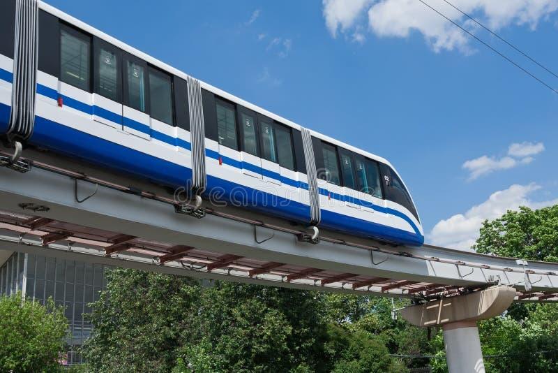 Train de monorail images libres de droits
