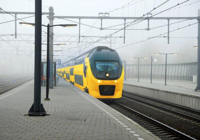 Train de Néerlandais image libre de droits
