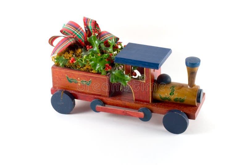Train de Noël bêta photo libre de droits