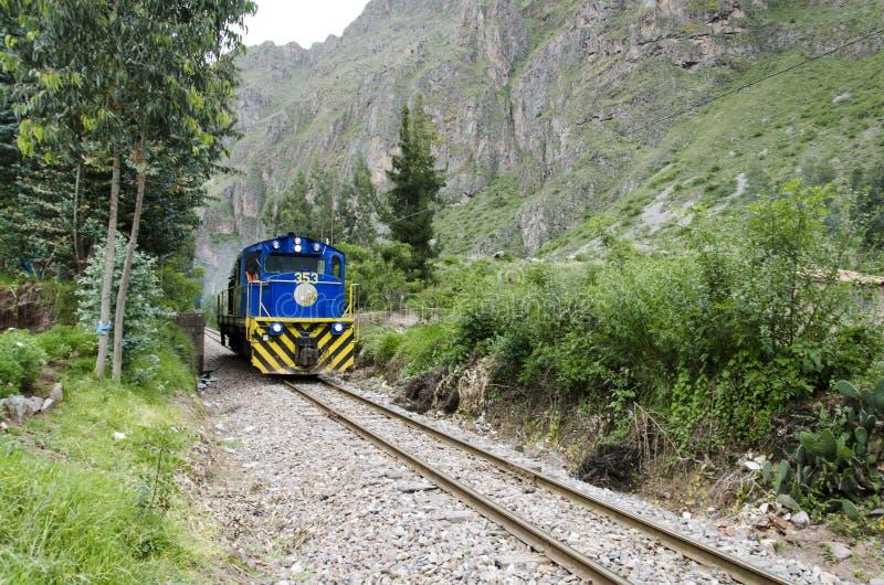 Train de Perurail image stock