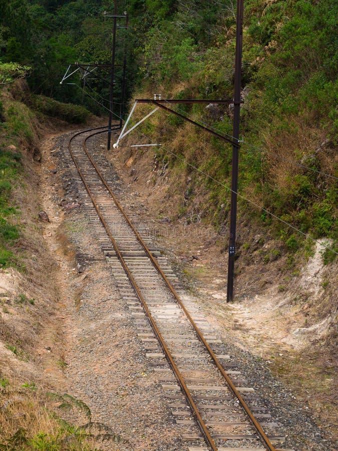 Train de rail photo libre de droits