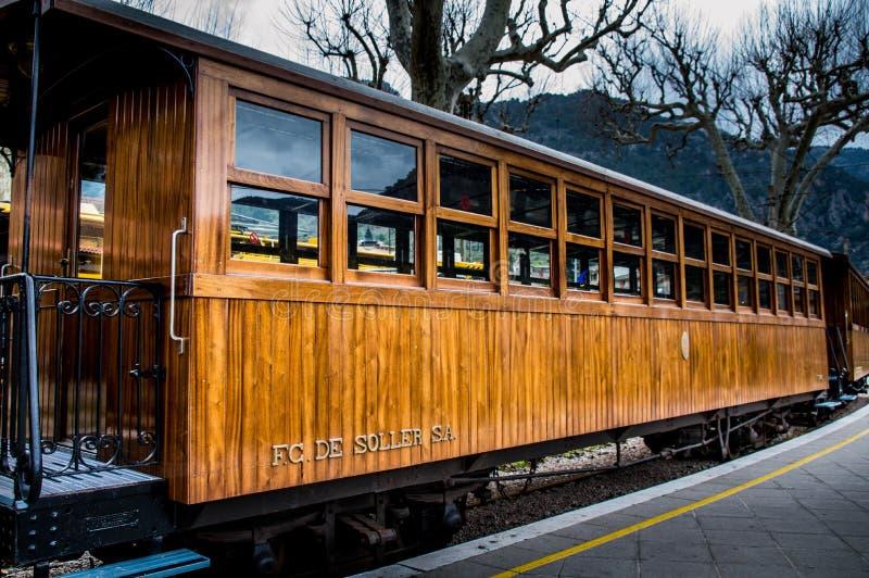 Train de Soller photo libre de droits