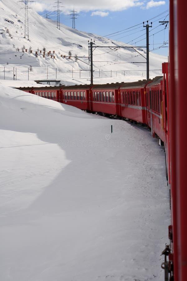 train de Suisse photos libres de droits