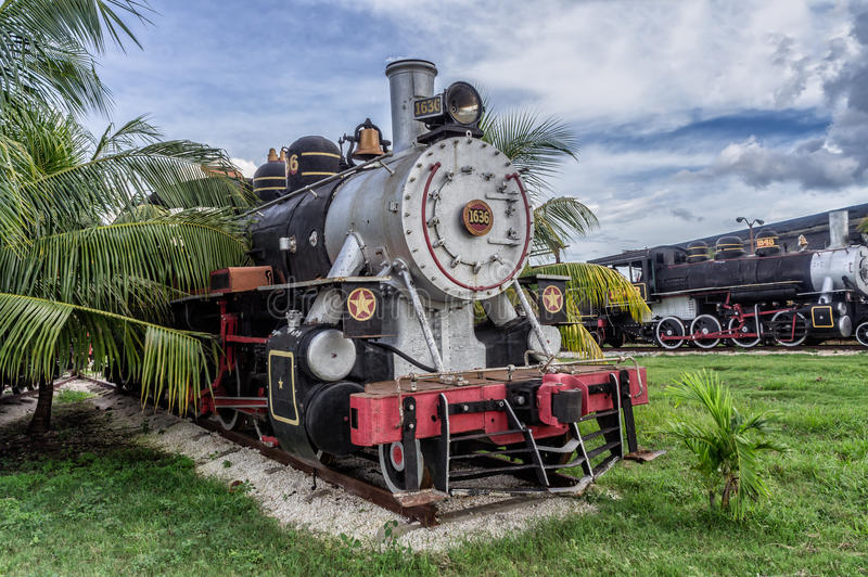 Train de touristes de sucre, Santa Clara, Cuba photo stock