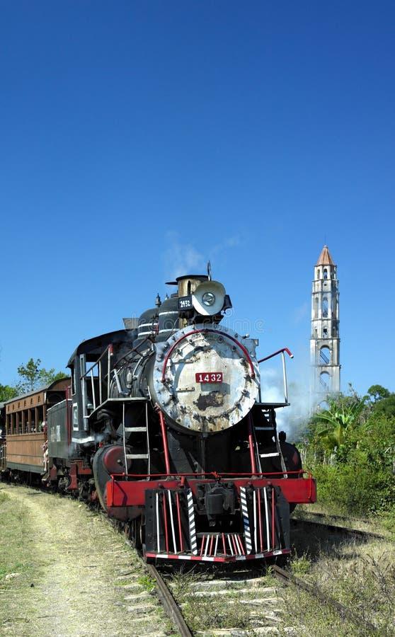 Train de touristes, Valle de Los Ingenios photos libres de droits