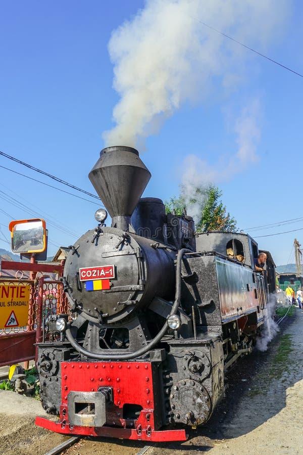 Train de vapeur de Viseu de Sus photos libres de droits