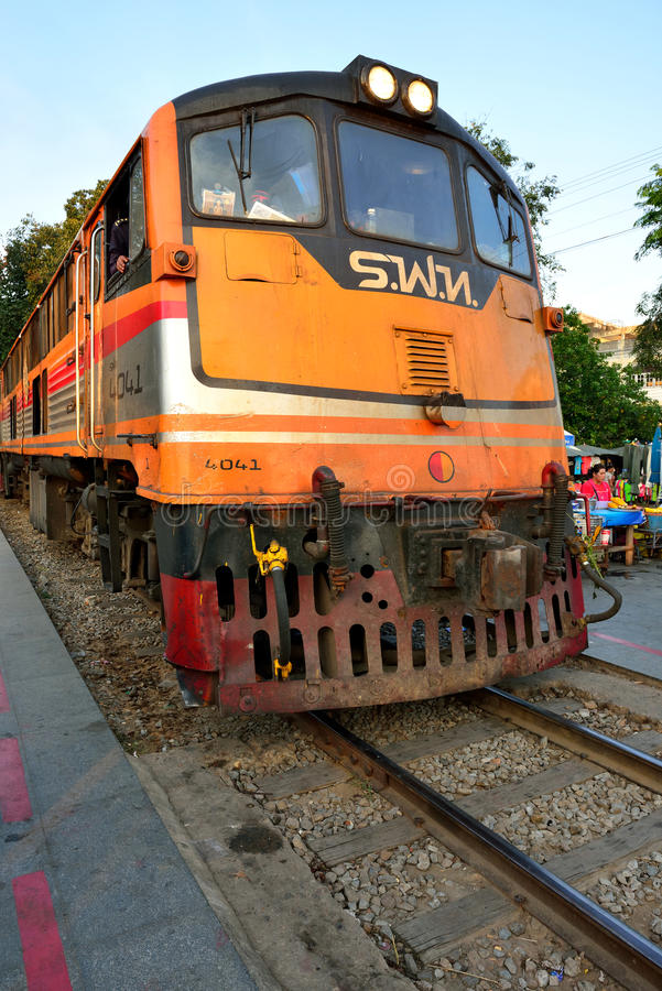 Train on Death Railway
