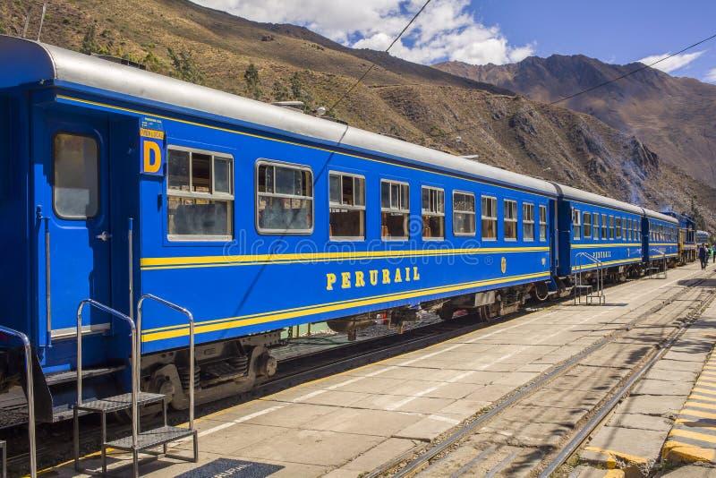 Train du Pérou photos libres de droits