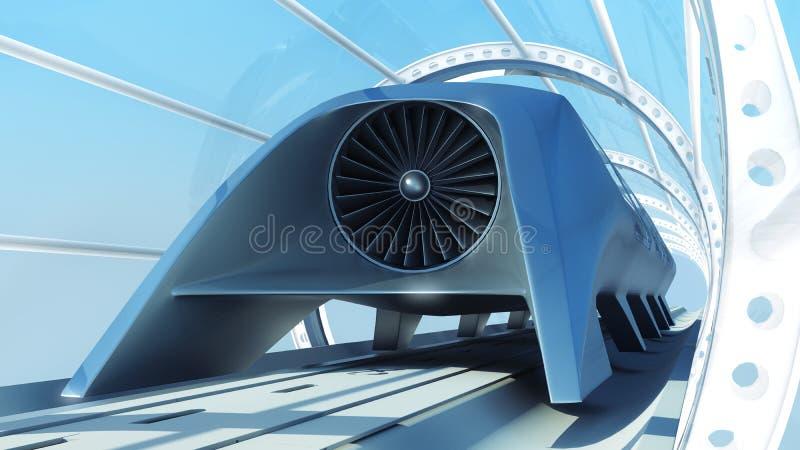 train futuriste