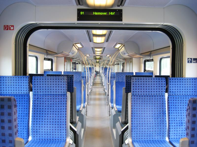Train of German Railways stock photos