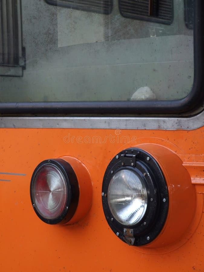 Train Headlight Royalty Free Stock Photography