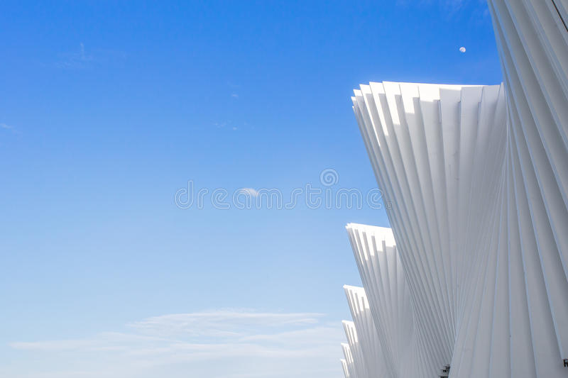 train high-speed train reggio emilia futuristic architecture italy stock photo