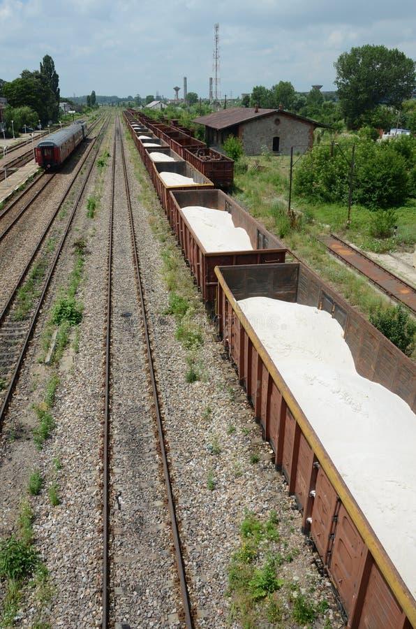 Train lane stock photography