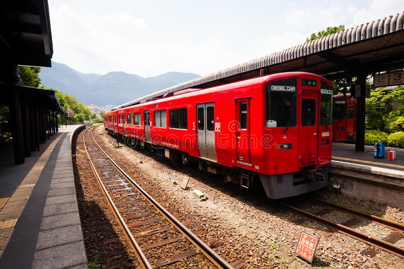 Train local de Japonais photographie stock