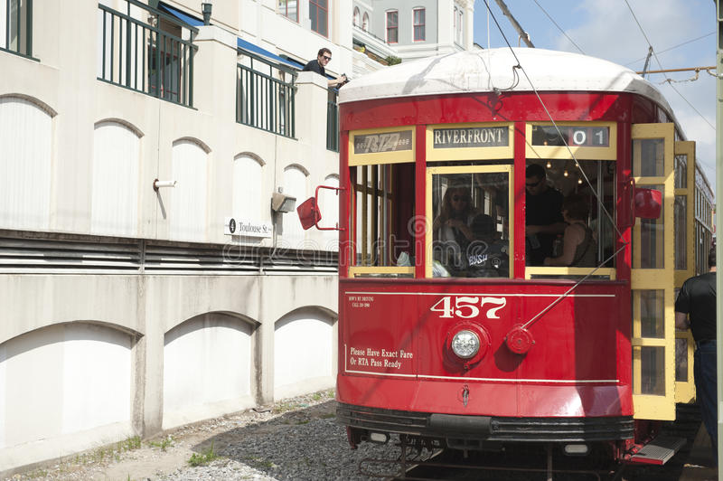 Download A train new orleans editorial stock photo. Image of schedule - 28432258