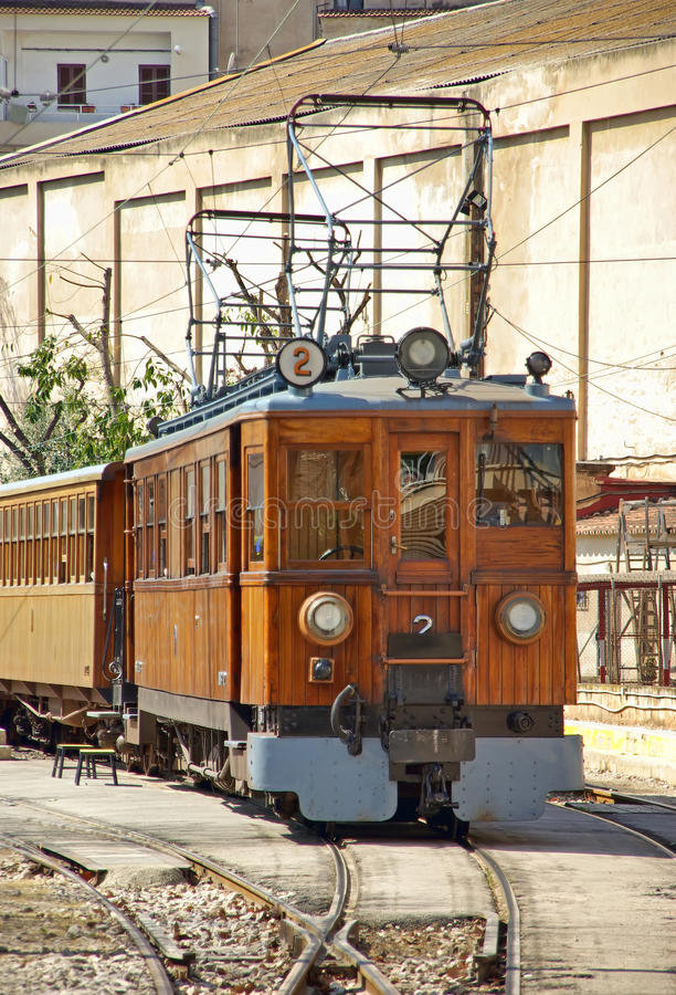 Free Train Of Soller Royalty Free Stock Photography - 28371367