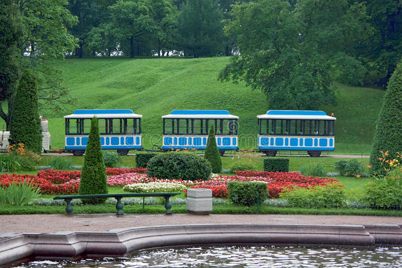 Download Train in the park stock image. Image of miniature, entertainment - 22520595