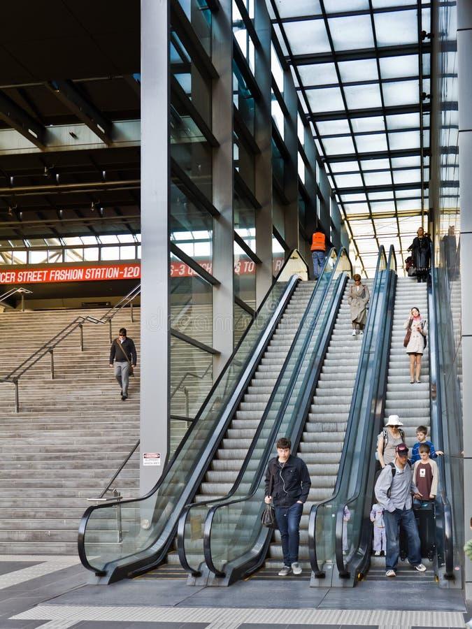 Download Train Passengers Using Escalators. Editorial Photo - Image: 24302931