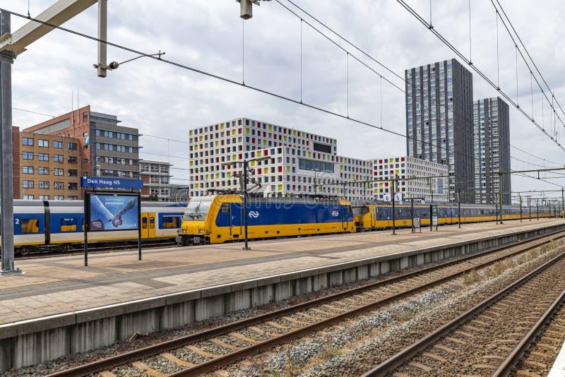 Den Haag HS train station royalty free stock photos