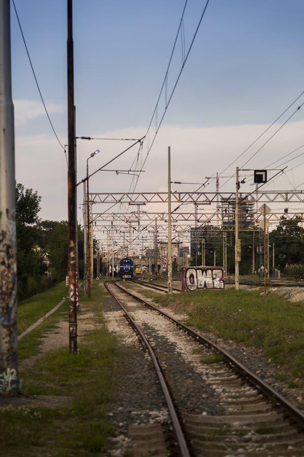 Train rail royalty free stock photography