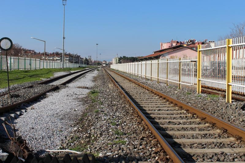 Download Train rail stock image. Image of modern, aydın, exterior - 108794185