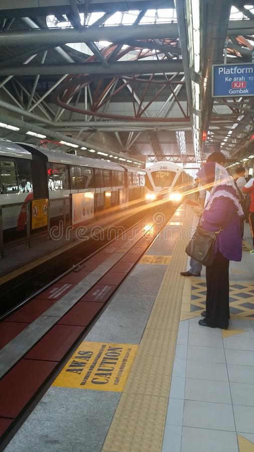 The train stock photo