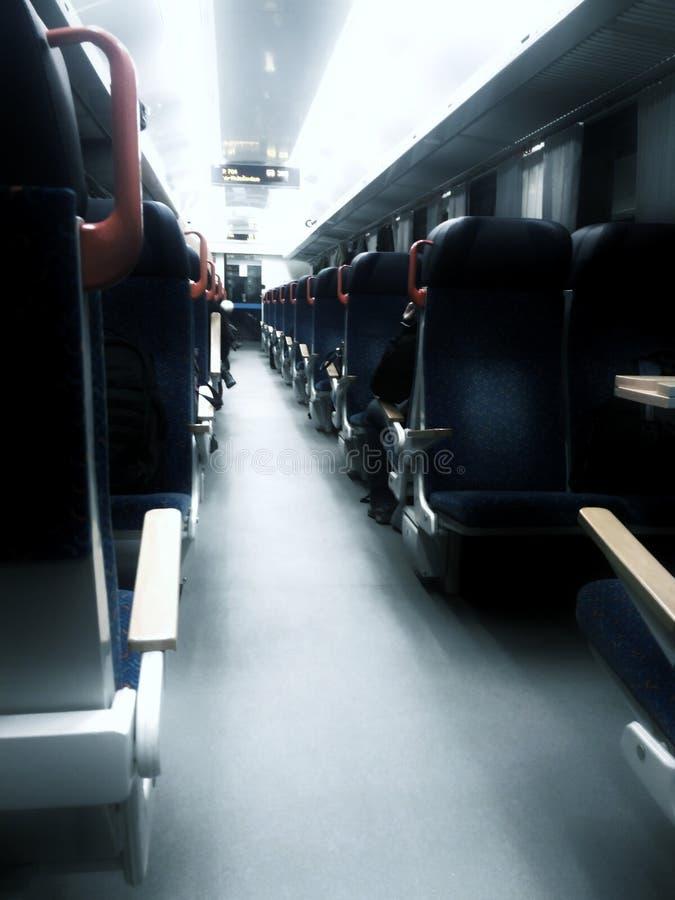Train rampant image stock