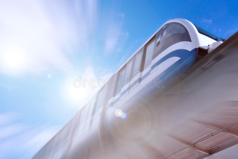 Monorail images stock