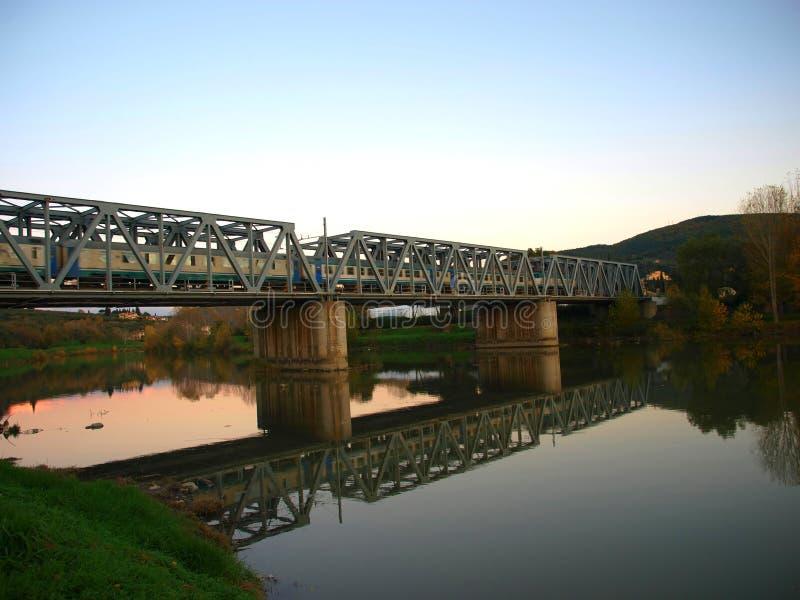 Download Train ridge on the water stock photo. Image of ridge, nature - 7201364