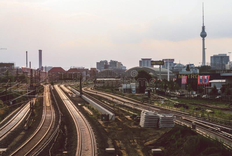 Train Road stock photography