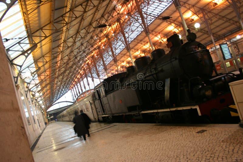 Download Train at Rossio stock photo. Image of rail, lisbon, architecture - 4357426