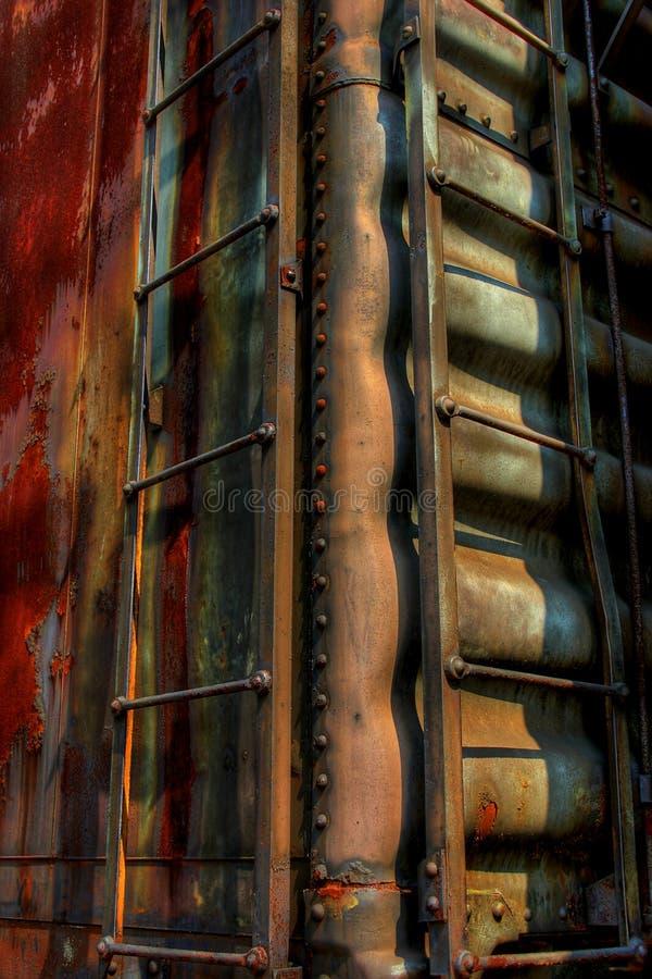Train rouillé photographie stock libre de droits