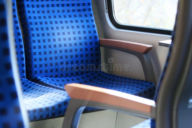 Train Seats royalty free stock photos