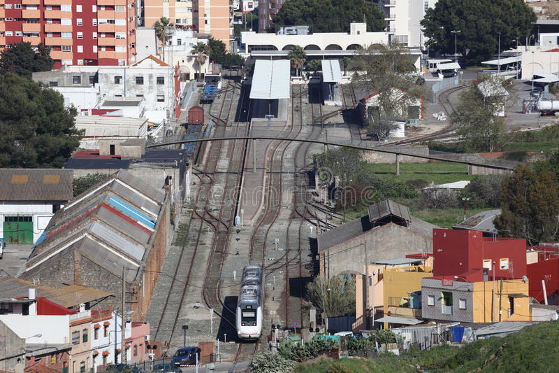Download Train Station In Algeciras, Spain Stock Photography - Image: 30983712
