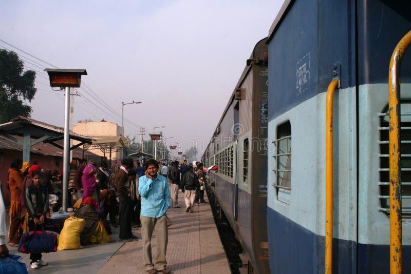 Train station, India