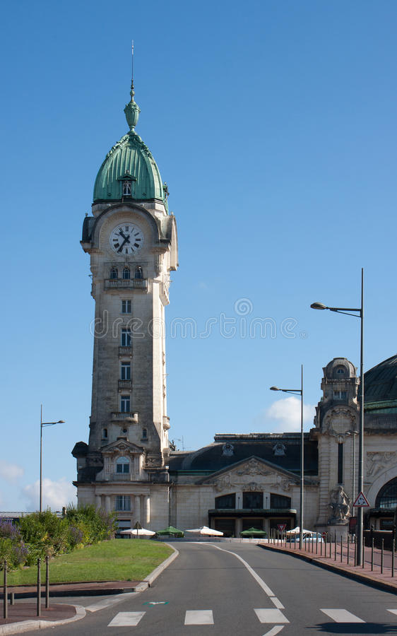Train Station In Limoges Stock Images
