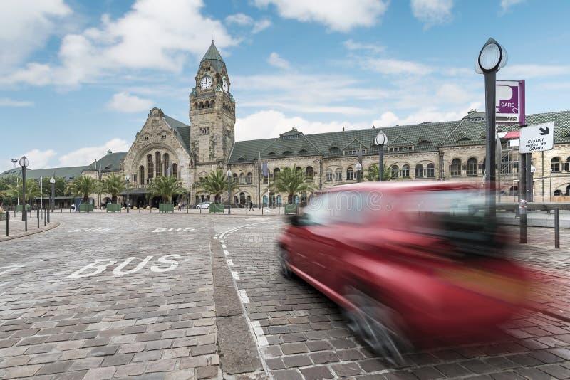 Train Station, Metz royalty free stock photos