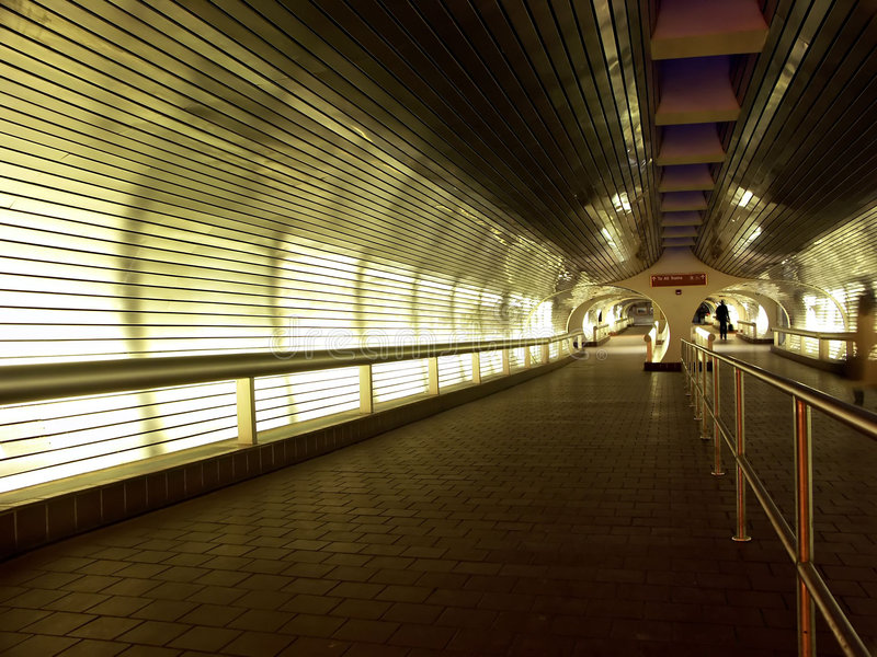 Train Station Tunnel Hallway stock images