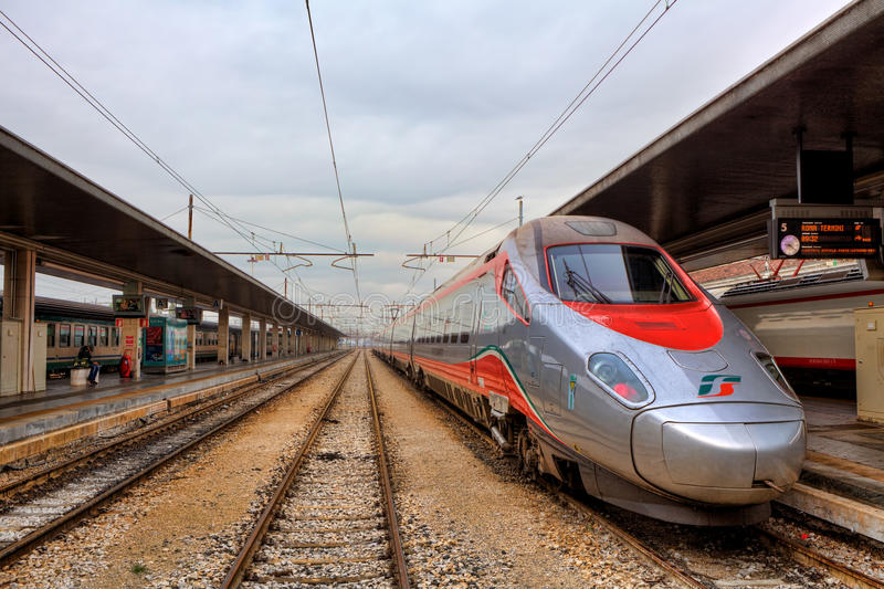 Download Train On The Station. Venice, Italy. Editorial Stock Image - Image: 27847464