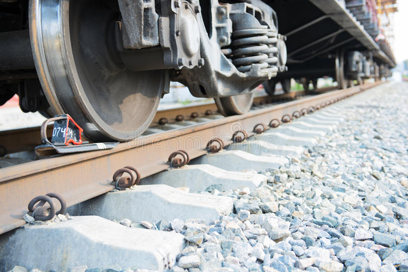 Download Train stopped stock image. Image of wheel, locomotive - 26534989